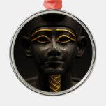 Figurilla de dios egipcio Osiris del último períod Ornamentos De Navidad