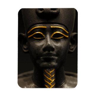 Figurilla de dios egipcio Osiris del último Rectangle Magnet