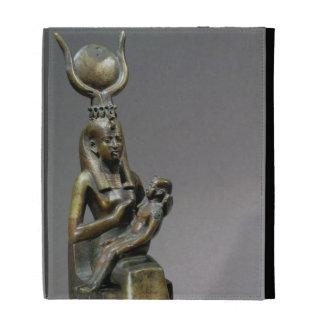 Figurilla de ISIS y del niño Horus de la diosa