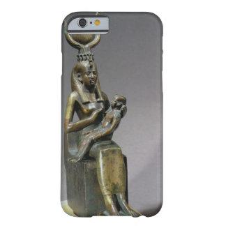 Figurilla de ISIS y del niño Horus de la diosa Funda Barely There iPhone 6