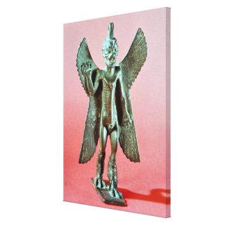Figurilla de Pazuzu, demonio asirio del viento Impresiones De Lienzo