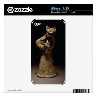 Figurilla de un demonio León-Dirigido, Mesopotamia Skins Para iPhone 4S