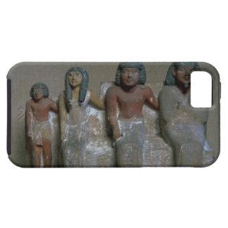 Figurilla de un grupo de la familia (pigmento en iPhone 5 carcasa