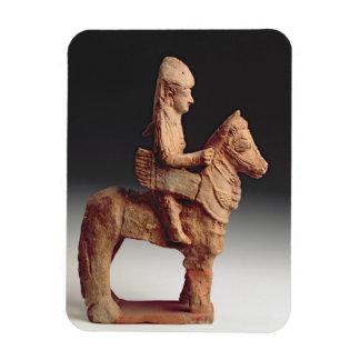 Figurilla de un jinete armado, Byblos, 8vo-6to ce Iman De Vinilo