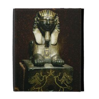 Figurilla de una esfinge de rey Tuthmosis III, nue