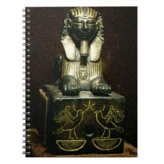 Figurilla de una esfinge de rey Tuthmosis III nue Libros De Apuntes Con Espiral