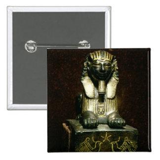 Figurilla de una esfinge de rey Tuthmosis III, nue Pin