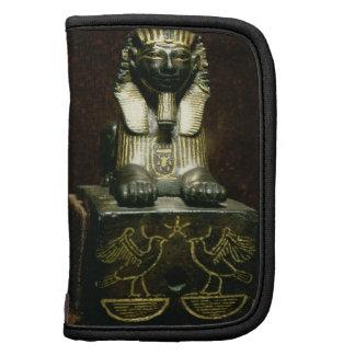 Figurilla de una esfinge de rey Tuthmosis III, nue Planificador