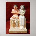 Figurilla del Seneb enano y de su familia Impresiones