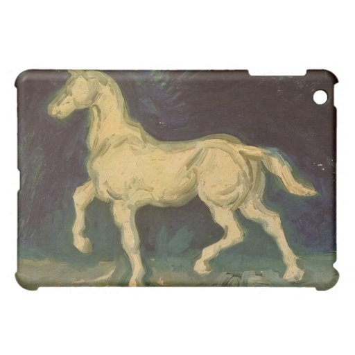 Figurilla del yeso de un caballo de Vincent van Go