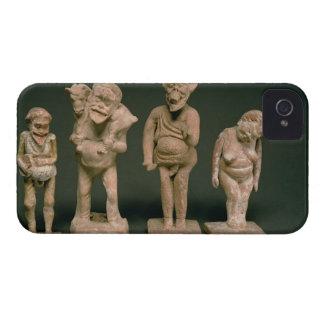 Figurillas de actores y de actrices, helenísticas, iPhone 4 Case-Mate carcasas