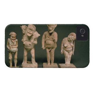 Figurillas de actores y de actrices, helenísticas, iPhone 4 Case-Mate cárcasas