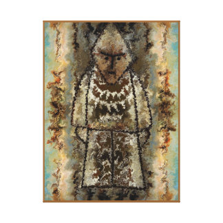 Figurine by rafi talby canvas print