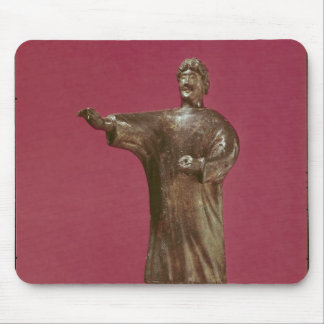 Figurine of a man wearing a sagum mouse pad