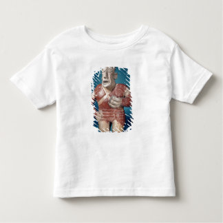 Figurine of a tlachtli player wearing a helmet toddler t-shirt