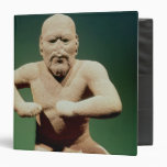 Figurine of a wrestler binders