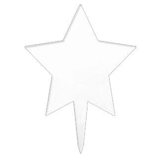 Figurines De Tarta Forma De Estrella Personalizada Decoración De Tarta