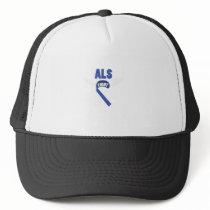 Fihgt ALS Awareness Trucker Hat