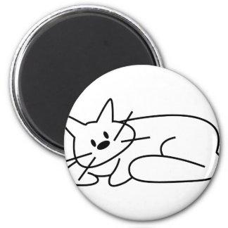Fijación del gato imán redondo 5 cm