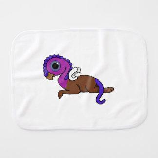 Fijación púrpura y azul de Gryphon del bolsillo de Paños Para Bebé