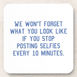 Fijación Selfies cada 10 minutos