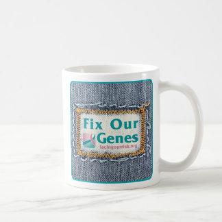 FIJE NUESTRA taza de los GENES