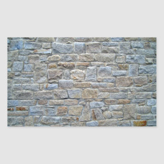 Fije profundamente la pared de piedra rectangular altavoz