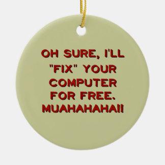 ¿Fije su ordenador gratis? Adorno Para Reyes