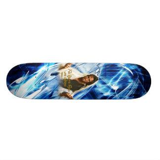 Fije sus ojos en el monopatín de Jesús 2 Tabla De Skate