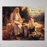 Fije sus ojos en Jesús 1 Poster
