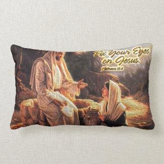 Fije sus ojos en la almohada de Jesús 1