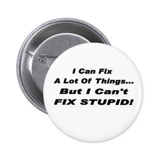 Fíjelo botón pin redondo de 2 pulgadas