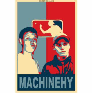 ¡Fíjelo encima de Machinehy! Fotoescultura Vertical