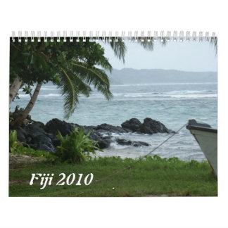Fiji 2010 calendarios de pared