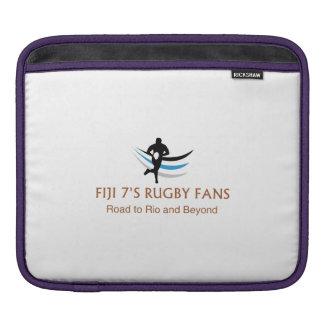 Fiji 7 fans del rugbi - manga protectora del iPad Funda Para iPads