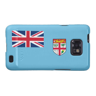 Fiji - bandera nacional del Fijian Samsung Galaxy S2 Fundas
