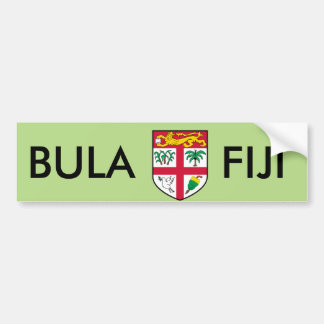 Fiji Car Bumper Sticker