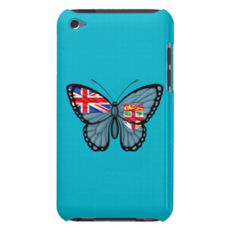 Fiji Butterfly Flag iPod Case-Mate Cases