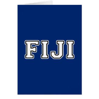 Fiji Card