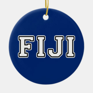 Fiji Ceramic Ornament