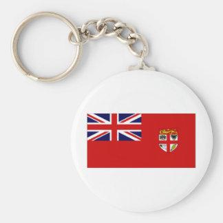 Fiji Civil Ensign Flag Key Chains