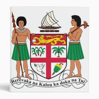 Fiji Coat Of Arms 3 Ring Binder