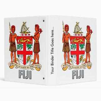 Fiji Coat of Arms Binder