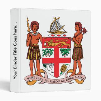 Fiji Coat of Arms detail 3 Ring Binder