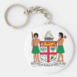 Fiji Coat of Arms Keychains