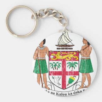 Fiji Coat Of Arms Key Chain