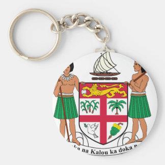Fiji Coat Of Arms Keychain