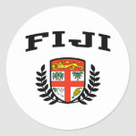 Fiji Coat of Arms Stickers