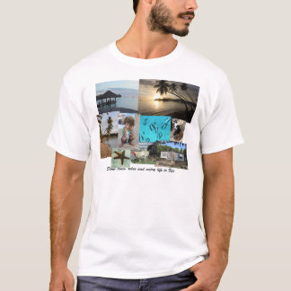 Fiji Collage from Malolo Leilei Island T-Shirt