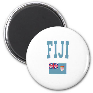 Fiji College Style 2 Inch Round Magnet